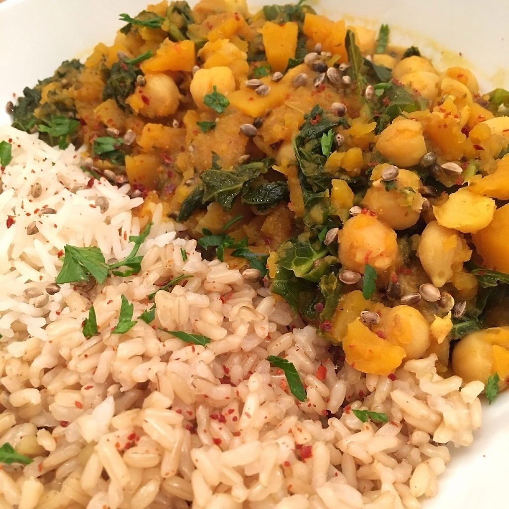 """Photo of The Rootsy Mill  by <a href=""""/members/profile/BROTATO"""">BROTATO</a> <br/>Chick pea curry with hemp seeds! <br/> May 1, 2017  - <a href='/contact/abuse/image/91419/254469'>Report</a>"""