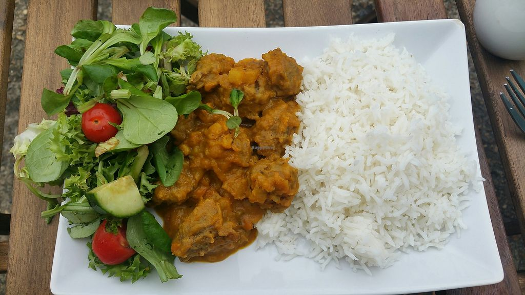 """Photo of The Rootsy Mill  by <a href=""""/members/profile/jollypig"""">jollypig</a> <br/>Jamaican curry <br/> July 23, 2017  - <a href='/contact/abuse/image/91419/283599'>Report</a>"""