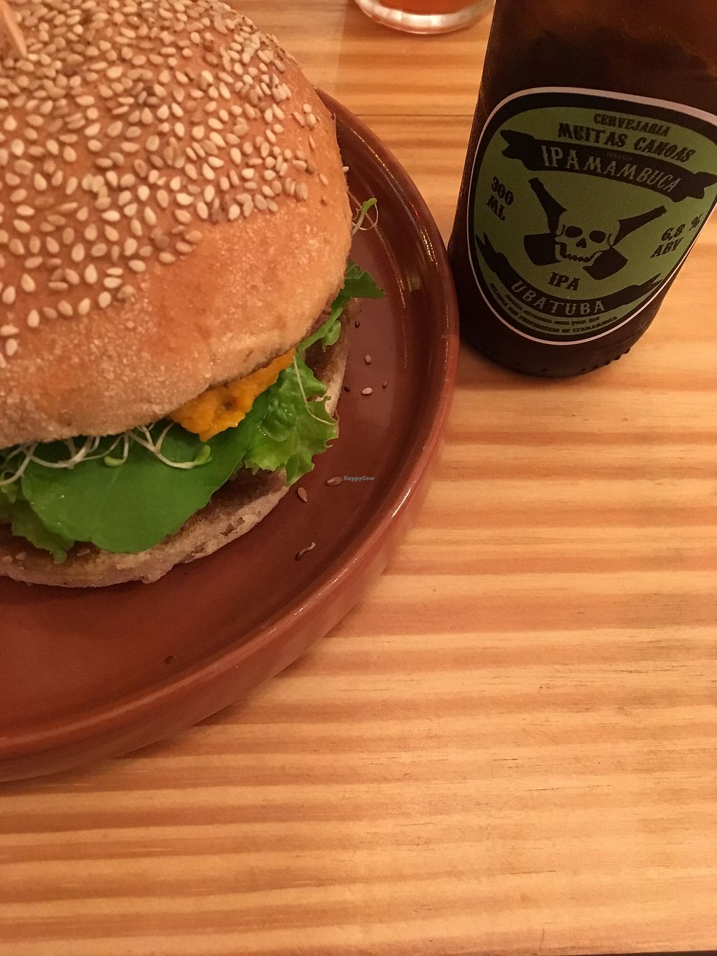 """Photo of Mangarito  by <a href=""""/members/profile/MarcusDerencius"""">MarcusDerencius</a> <br/>Vegan burguer <br/> September 15, 2017  - <a href='/contact/abuse/image/91425/304575'>Report</a>"""