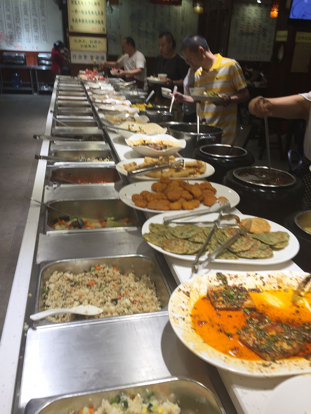 """Photo of Ju Shan Yuan Qing Xin  by <a href=""""/members/profile/H2OAddict"""">H2OAddict</a> <br/>Summer Buffet <br/> August 4, 2017  - <a href='/contact/abuse/image/91461/288586'>Report</a>"""