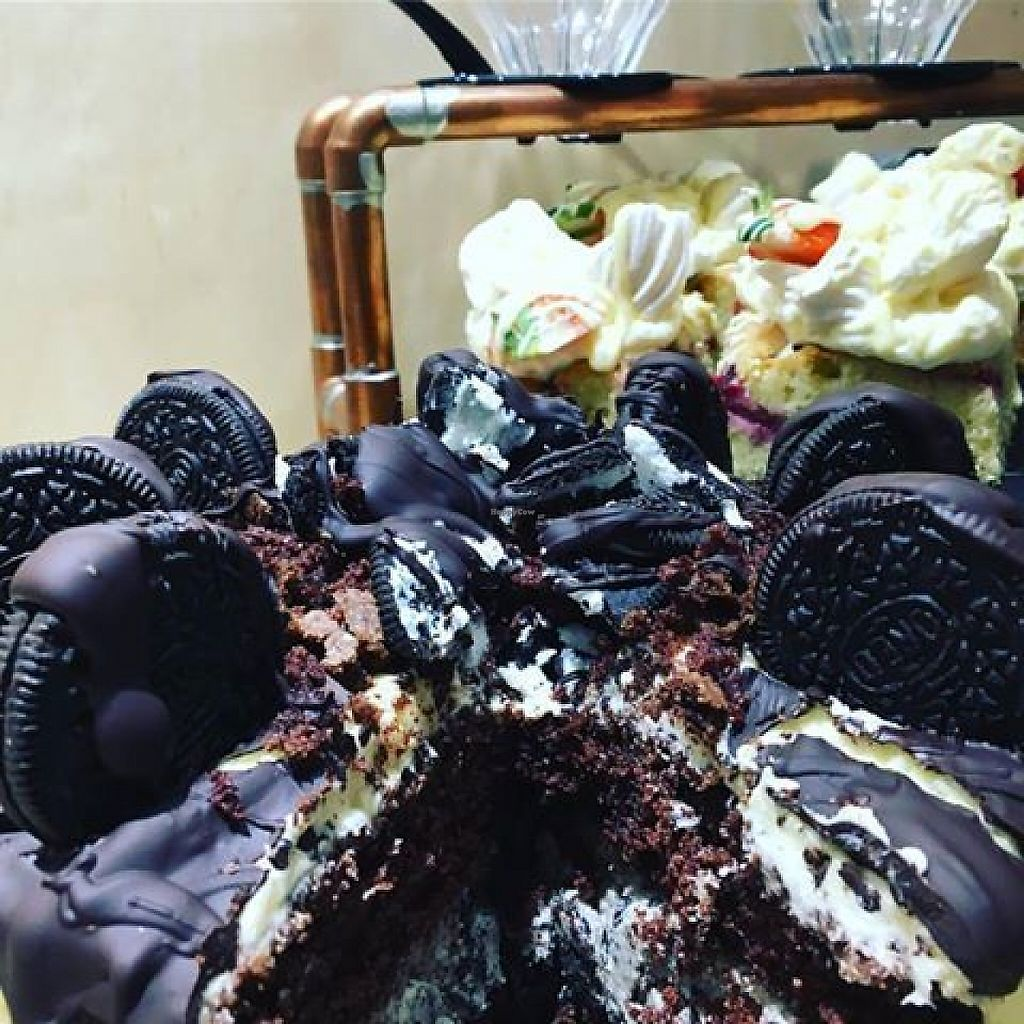 """Photo of Wayland's Yard  by <a href=""""/members/profile/community5"""">community5</a> <br/>Vegan Oreo cake <br/> May 1, 2017  - <a href='/contact/abuse/image/91465/254566'>Report</a>"""