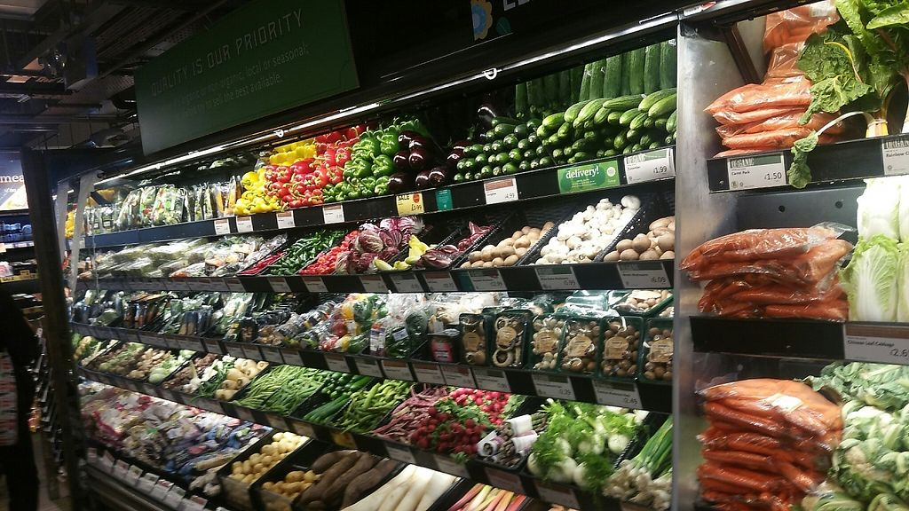 "Photo of Whole Foods Market - Fulham Broadway  by <a href=""/members/profile/jollypig"">jollypig</a> <br/>Veggies <br/> May 1, 2017  - <a href='/contact/abuse/image/91482/254623'>Report</a>"
