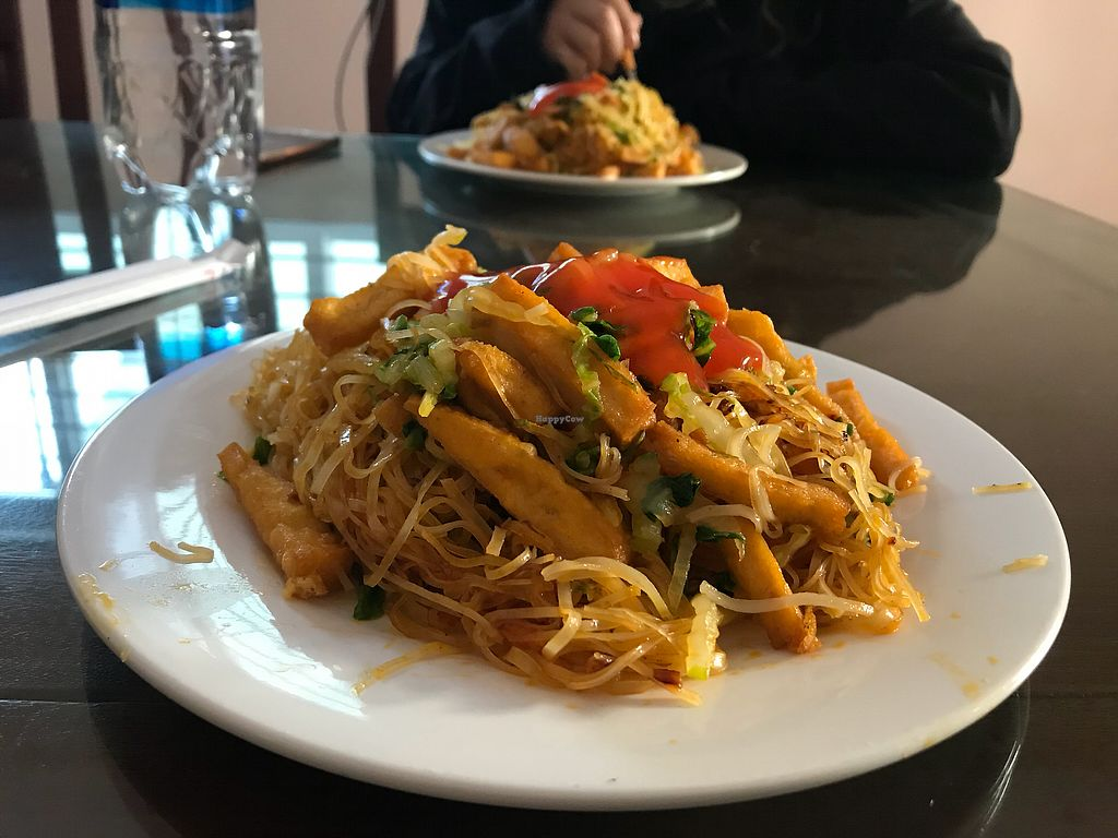 "Photo of Huong Sen  by <a href=""/members/profile/TravelVeggie"">TravelVeggie</a> <br/>Fried noodles with tofu <br/> December 17, 2017  - <a href='/contact/abuse/image/91509/336457'>Report</a>"