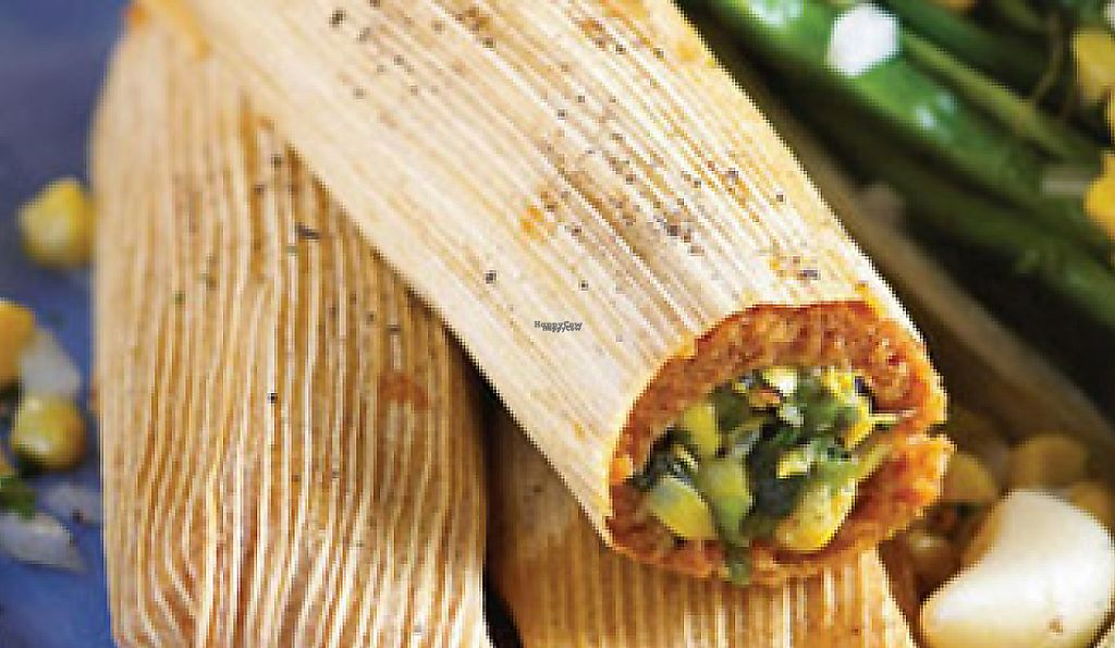 """Photo of Hot Damn Tamales  by <a href=""""/members/profile/HotDamnTamales"""">HotDamnTamales</a> <br/>Vegan Poblano Corn Tamales No Lard, Gluten-Free <br/> January 10, 2017  - <a href='/contact/abuse/image/9152/227820'>Report</a>"""