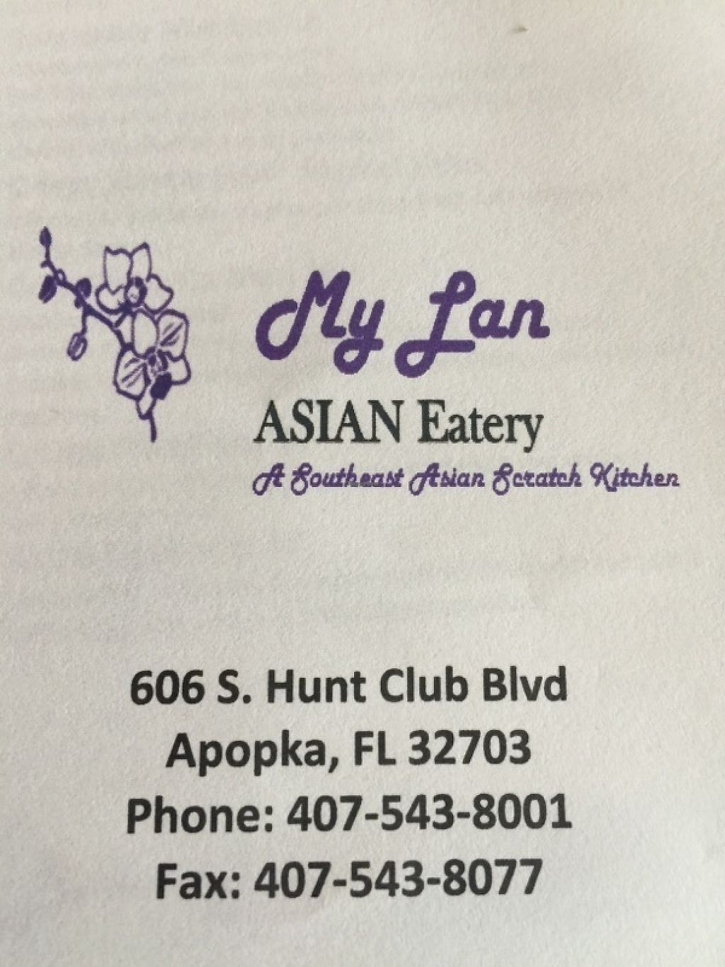 "Photo of CLOSED: Mylan Asian Eatery  by <a href=""/members/profile/wilsondyl"">wilsondyl</a> <br/>phone number and adress <br/> May 24, 2017  - <a href='/contact/abuse/image/91546/262059'>Report</a>"