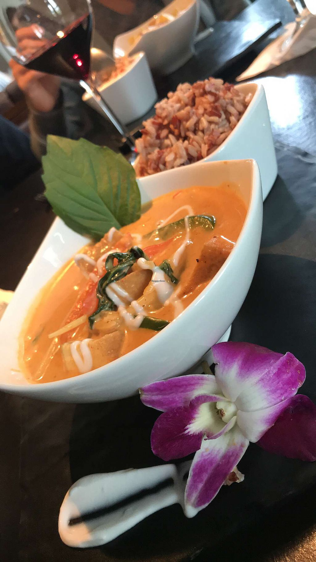 """Photo of Noi Thai  by <a href=""""/members/profile/JaredCostanzo"""">JaredCostanzo</a> <br/>Tofu Red Curry... amazing!  <br/> December 26, 2017  - <a href='/contact/abuse/image/91555/339313'>Report</a>"""