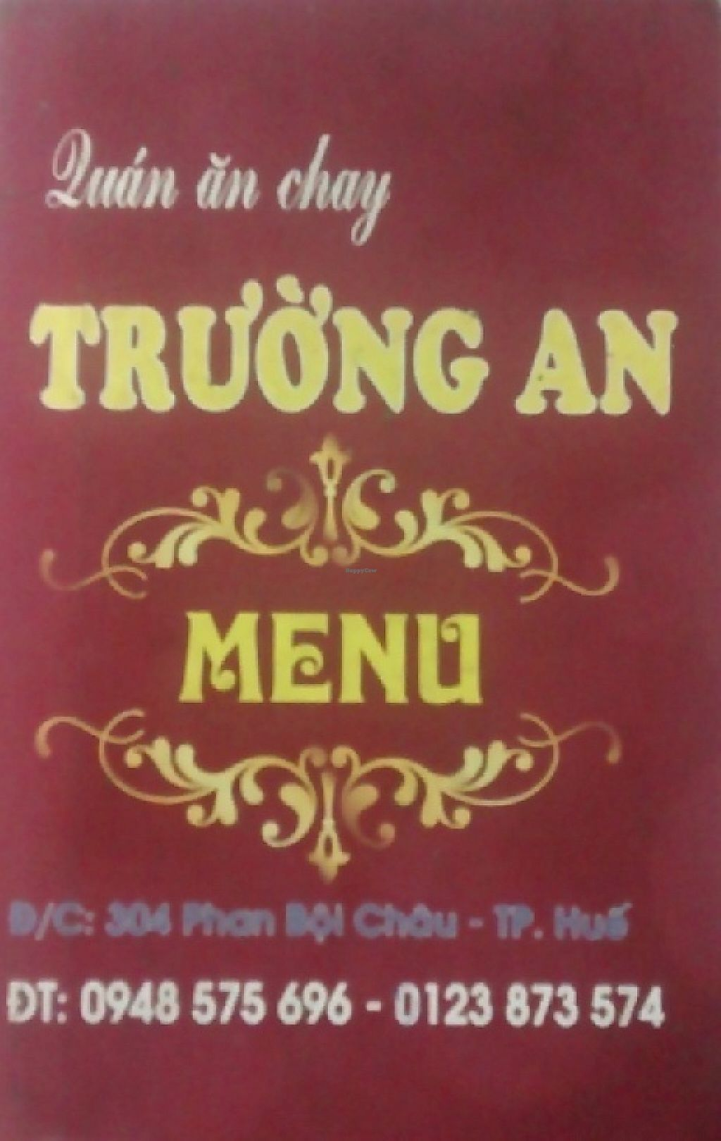 """Photo of Truong An  by <a href=""""/members/profile/Canamon"""">Canamon</a> <br/>front of menu <br/> May 5, 2017  - <a href='/contact/abuse/image/91557/255733'>Report</a>"""