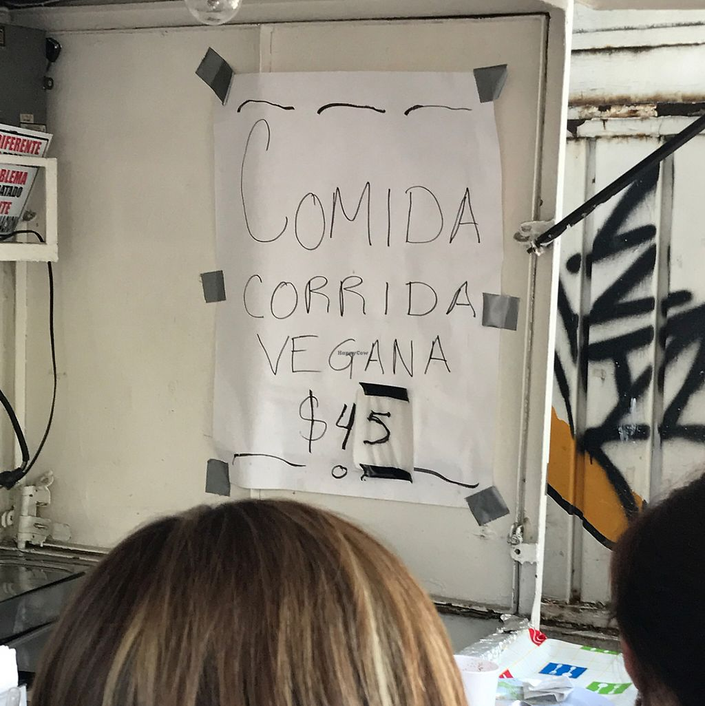 "Photo of CLOSED: Platon Vegano - Food Truck  by <a href=""/members/profile/AlbertoXLush"">AlbertoXLush</a> <br/>Comida Corrida  <br/> May 22, 2017  - <a href='/contact/abuse/image/91561/261490'>Report</a>"