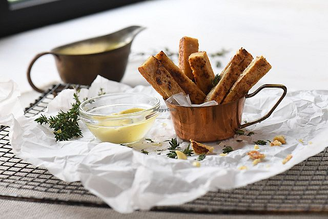 "Photo of Mandala  by <a href=""/members/profile/jkaric"">jkaric</a> <br/>Chickpea Fries & Home made Organic Vegan Mayo <br/> September 9, 2017  - <a href='/contact/abuse/image/91563/302704'>Report</a>"