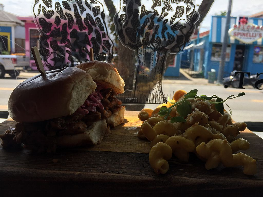 """Photo of Morels Cafe  by <a href=""""/members/profile/happymac1124"""">happymac1124</a> <br/>The Sliders with a side of Mac n Cheese! <br/> September 12, 2017  - <a href='/contact/abuse/image/91572/303487'>Report</a>"""