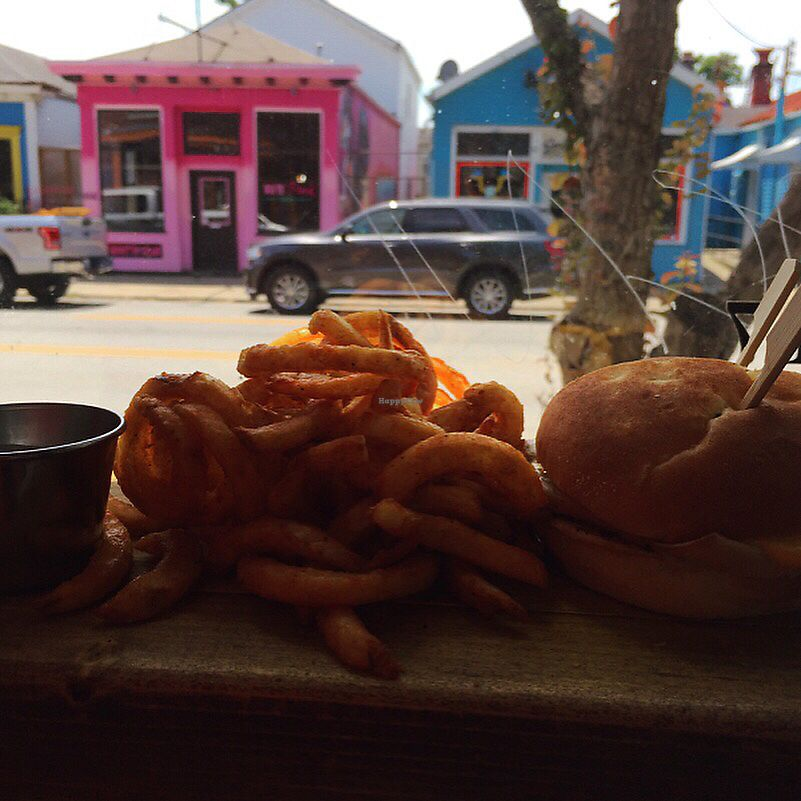 """Photo of Morels Cafe  by <a href=""""/members/profile/happymac1124"""">happymac1124</a> <br/>""""Roast Beef"""" sandwich with the BEST curly fries & dipping sauce <br/> September 12, 2017  - <a href='/contact/abuse/image/91572/303489'>Report</a>"""