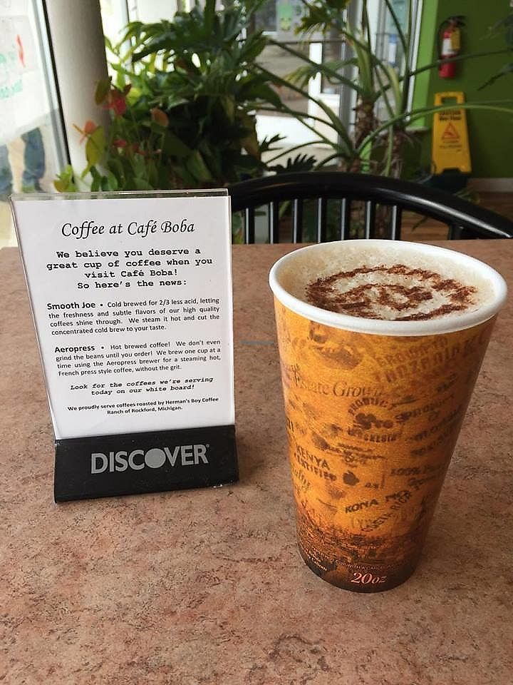 """Photo of Cafe Boba  by <a href=""""/members/profile/shellxvictoria"""">shellxvictoria</a> <br/>Mocha Soy Latte <br/> July 19, 2017  - <a href='/contact/abuse/image/91585/282258'>Report</a>"""