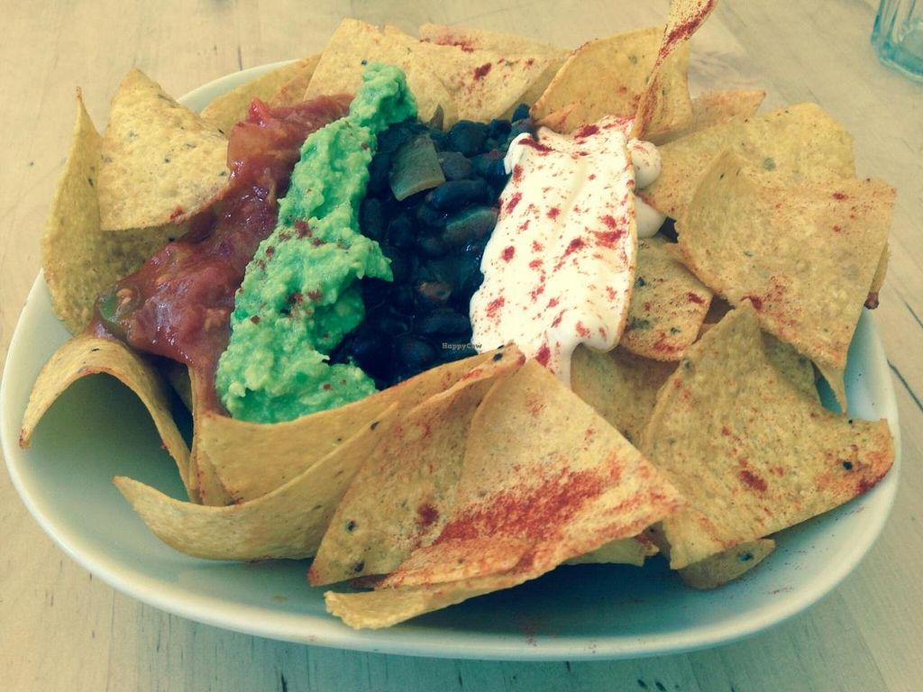 """Photo of CLOSED: Las Vegan Cafe  by <a href=""""/members/profile/Tiggy"""">Tiggy</a> <br/>Nachos <br/> October 3, 2014  - <a href='/contact/abuse/image/9159/82071'>Report</a>"""