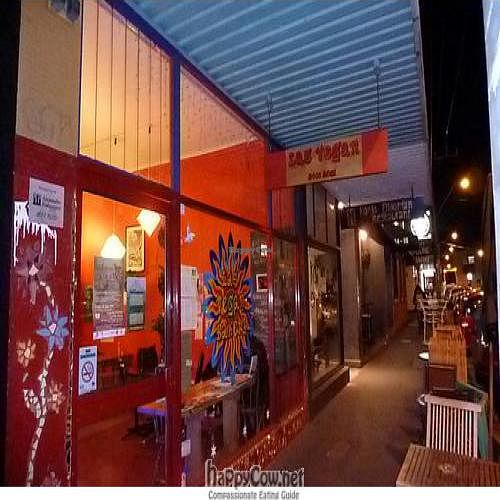 """Photo of CLOSED: Las Vegan Cafe  by <a href=""""/members/profile/Aloo"""">Aloo</a> <br/>Outside Las Vegan! <br/> July 28, 2011  - <a href='/contact/abuse/image/9159/9860'>Report</a>"""