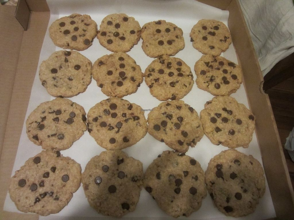 """Photo of Bambi's Country Farm Market  by <a href=""""/members/profile/itsawonderfulday"""">itsawonderfulday</a> <br/>Vegan Pecan, Coconut, Chocolate Chip Cookies....Yummy...Gluten Free Too! <br/> May 7, 2017  - <a href='/contact/abuse/image/91601/256566'>Report</a>"""