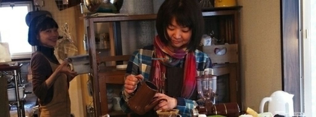 "Photo of Ussyi Coffee & Nishimaki Gohan  by <a href=""/members/profile/moka_a"">moka_a</a> <br/>Ussyi the barista & Nishimaki the chef <br/> May 6, 2017  - <a href='/contact/abuse/image/91610/256117'>Report</a>"