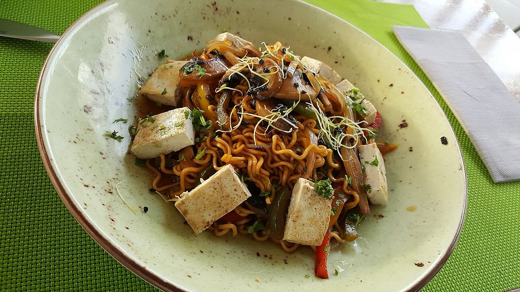 """Photo of Fuel RestoBar  by <a href=""""/members/profile/LisaNastasi"""">LisaNastasi</a> <br/>Vegan Noodle Wok  <br/> June 29, 2017  - <a href='/contact/abuse/image/91617/274893'>Report</a>"""