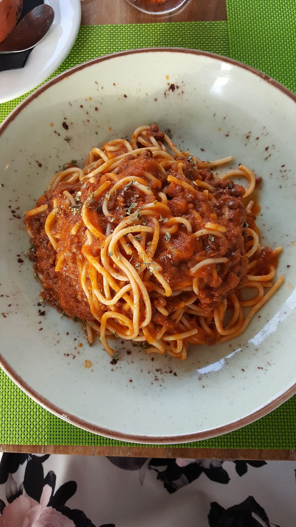 """Photo of Fuel RestoBar  by <a href=""""/members/profile/LisaNastasi"""">LisaNastasi</a> <br/>Vegan Lentil Bolognese <br/> June 29, 2017  - <a href='/contact/abuse/image/91617/274894'>Report</a>"""