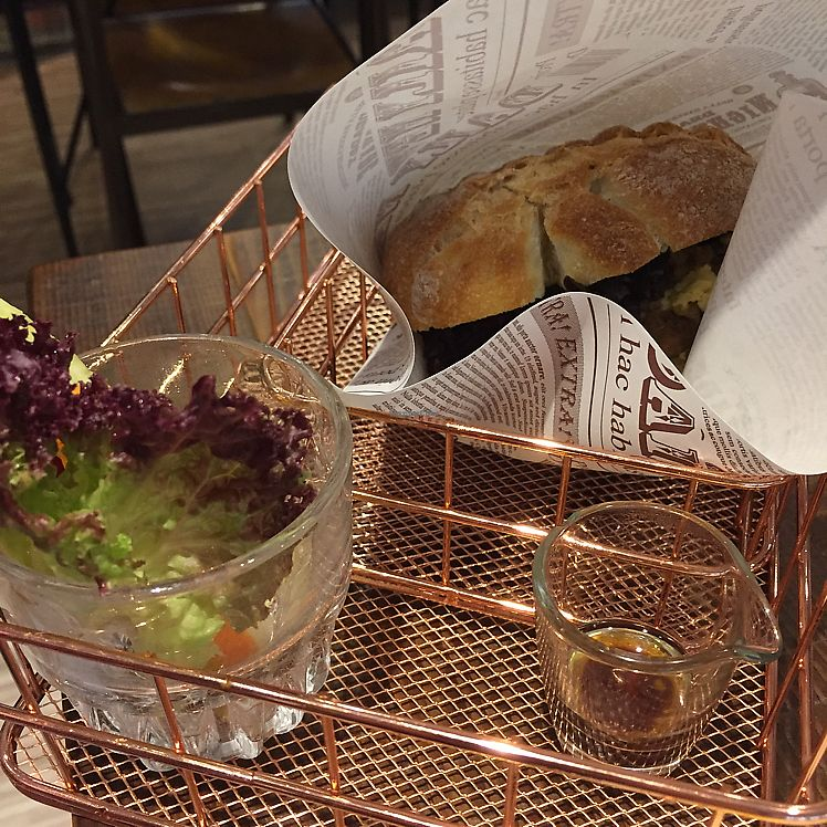 """Photo of Blossom Rena Vegan Cafe  by <a href=""""/members/profile/HaileyPoLa"""">HaileyPoLa</a> <br/>ciabatta sandwich  <br/> June 22, 2017  - <a href='/contact/abuse/image/91621/272152'>Report</a>"""