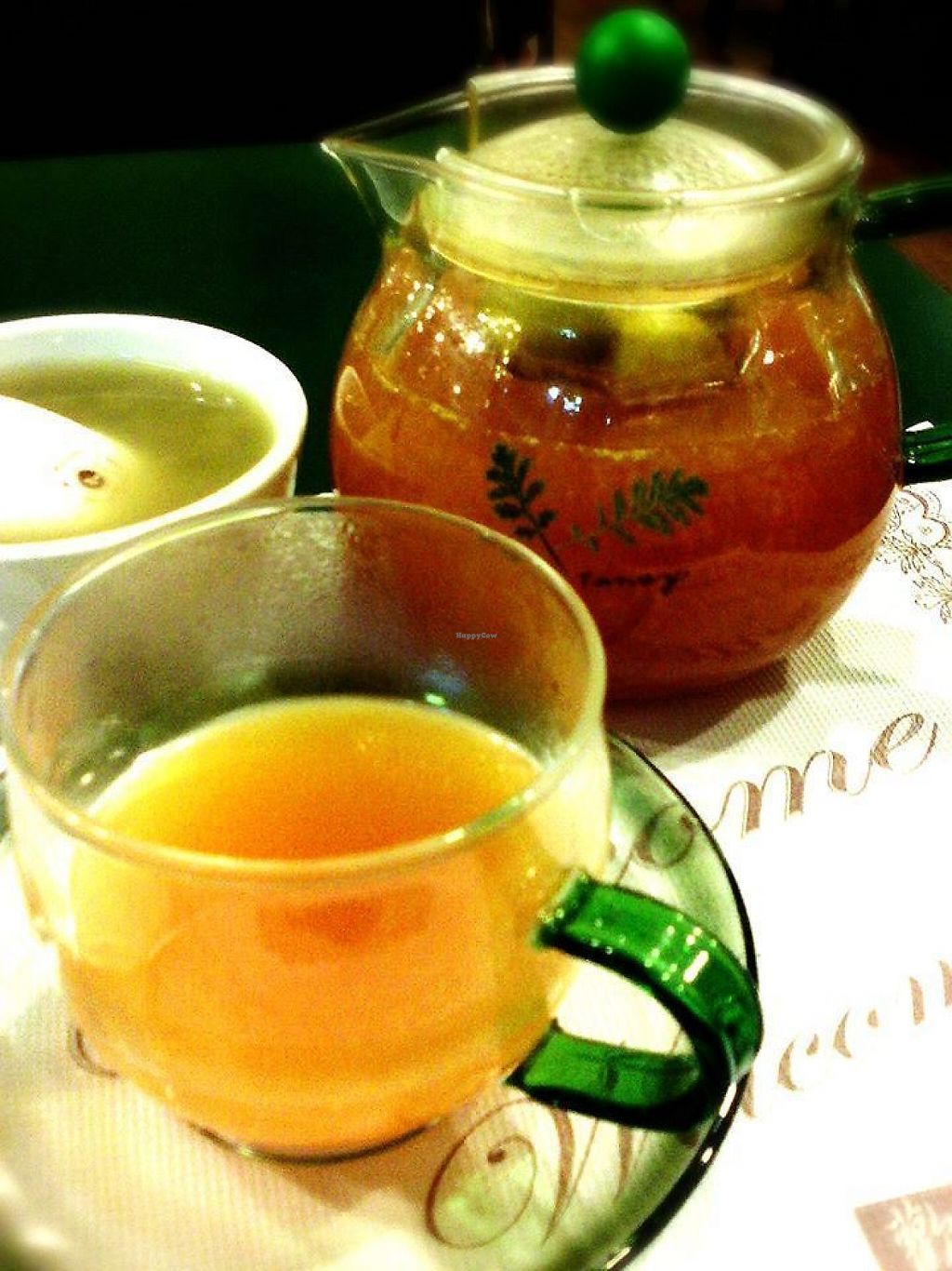 "Photo of Cai Feng Healthy Vegetarian  by <a href=""/members/profile/WanPing"">WanPing</a> <br/>Kumquat tea, a bit sweet, a bit sour, very nice <br/> May 9, 2017  - <a href='/contact/abuse/image/91623/257365'>Report</a>"