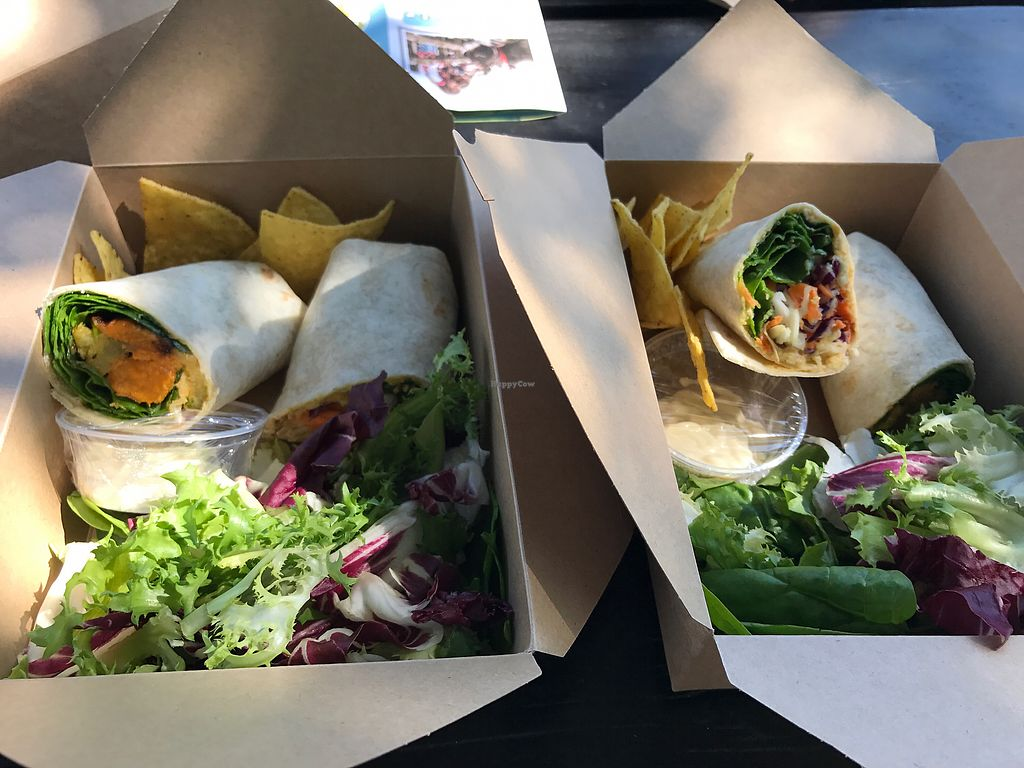 "Photo of The Accidental Vegan Cafe  by <a href=""/members/profile/VeganSimone"">VeganSimone</a> <br/>yummy wraps <br/> August 26, 2017  - <a href='/contact/abuse/image/91640/297406'>Report</a>"