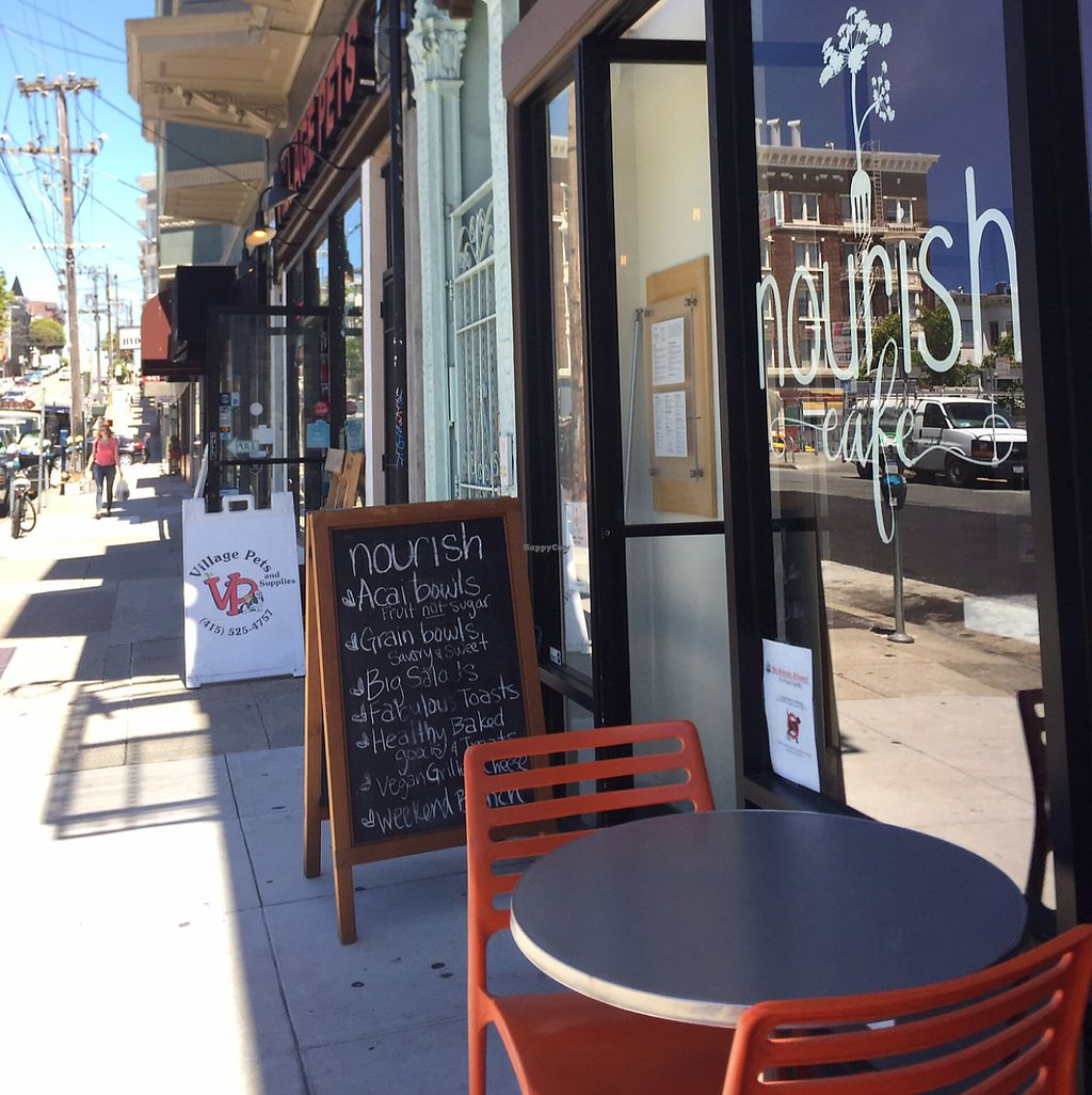 """Photo of Nourish Cafe - Nob Hill  by <a href=""""/members/profile/szcondon1"""">szcondon1</a> <br/>store front <br/> June 7, 2017  - <a href='/contact/abuse/image/91641/266543'>Report</a>"""