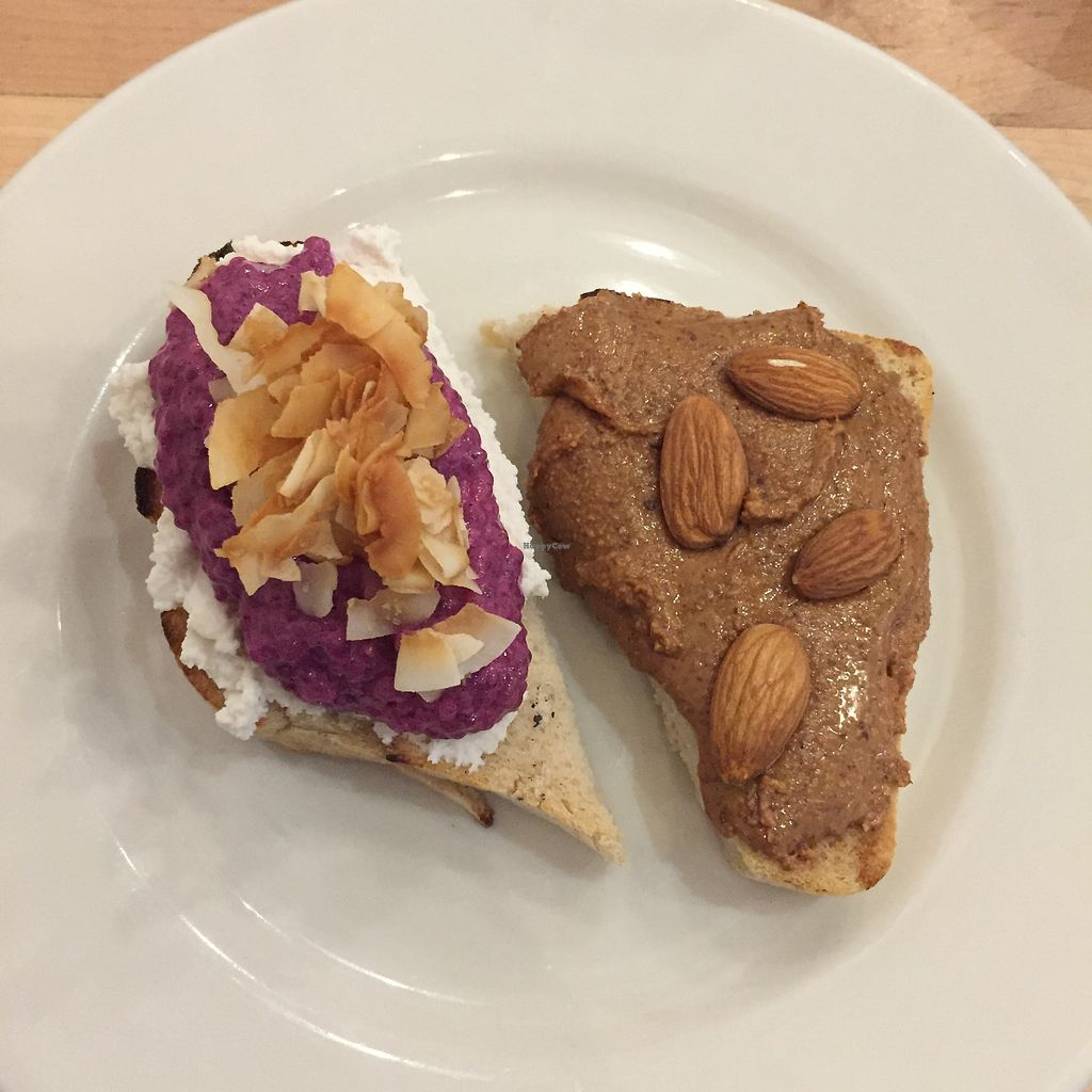 """Photo of Nourish Cafe - Nob Hill  by <a href=""""/members/profile/karczoszka"""">karczoszka</a> <br/>GF Toast <br/> April 22, 2018  - <a href='/contact/abuse/image/91641/389215'>Report</a>"""