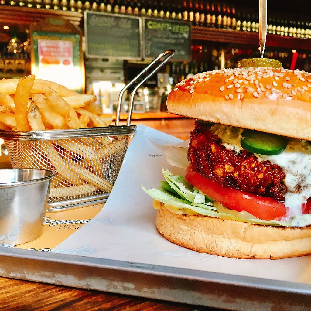 """Photo of Hobgoblin - Roppongi  by <a href=""""/members/profile/Injapan"""">Injapan</a> <br/>Falafal Burger <br/> May 7, 2017  - <a href='/contact/abuse/image/91643/256996'>Report</a>"""