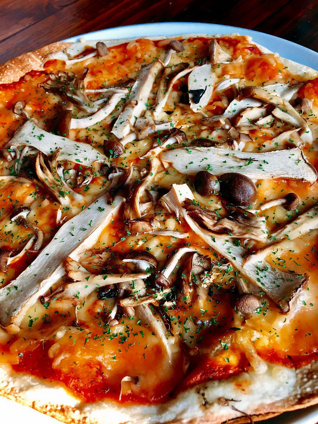 """Photo of Hobgoblin - Shibuya  by <a href=""""/members/profile/Injapan"""">Injapan</a> <br/>Mixed Mushroom Pizza <br/> May 7, 2017  - <a href='/contact/abuse/image/91644/257005'>Report</a>"""