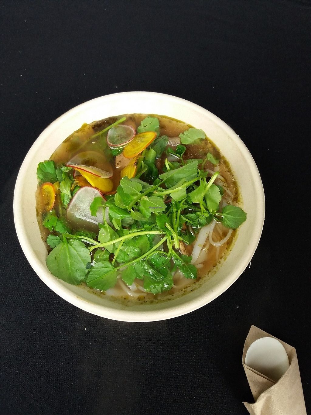 """Photo of A White Saga  by <a href=""""/members/profile/veganvirtues"""">veganvirtues</a> <br/>Pho was delicious <br/> May 12, 2017  - <a href='/contact/abuse/image/91647/257994'>Report</a>"""