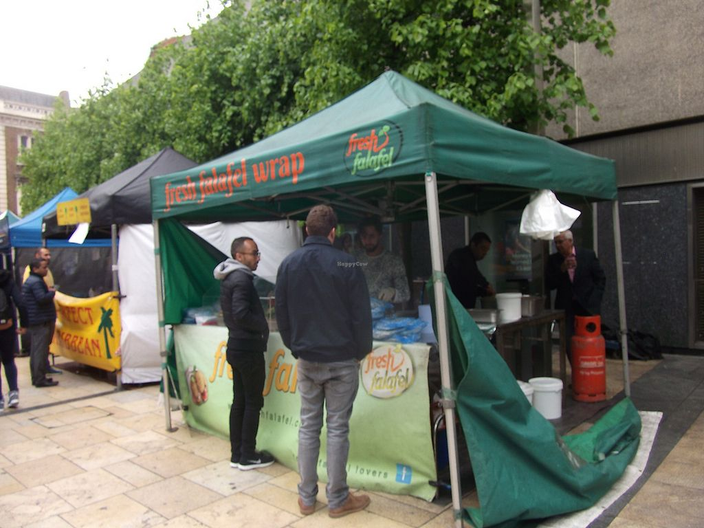 """Photo of Lyric Square Market  by <a href=""""/members/profile/Vegancucc"""">Vegancucc</a> <br/>Falafel stand. Best on Thursday. The one on Friday is not that good.  <br/> June 7, 2017  - <a href='/contact/abuse/image/91667/266662'>Report</a>"""