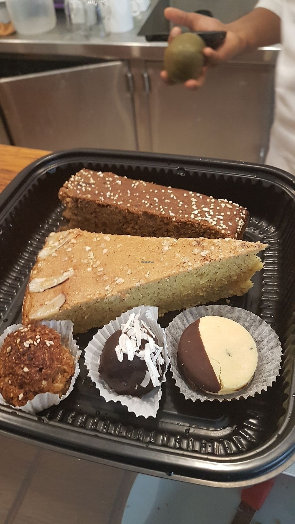 """Photo of Abdiel Vegan  by <a href=""""/members/profile/unabashed"""">unabashed</a> <br/>Breads and desserts to take home (they used my own container) <br/> August 29, 2017  - <a href='/contact/abuse/image/91668/298736'>Report</a>"""