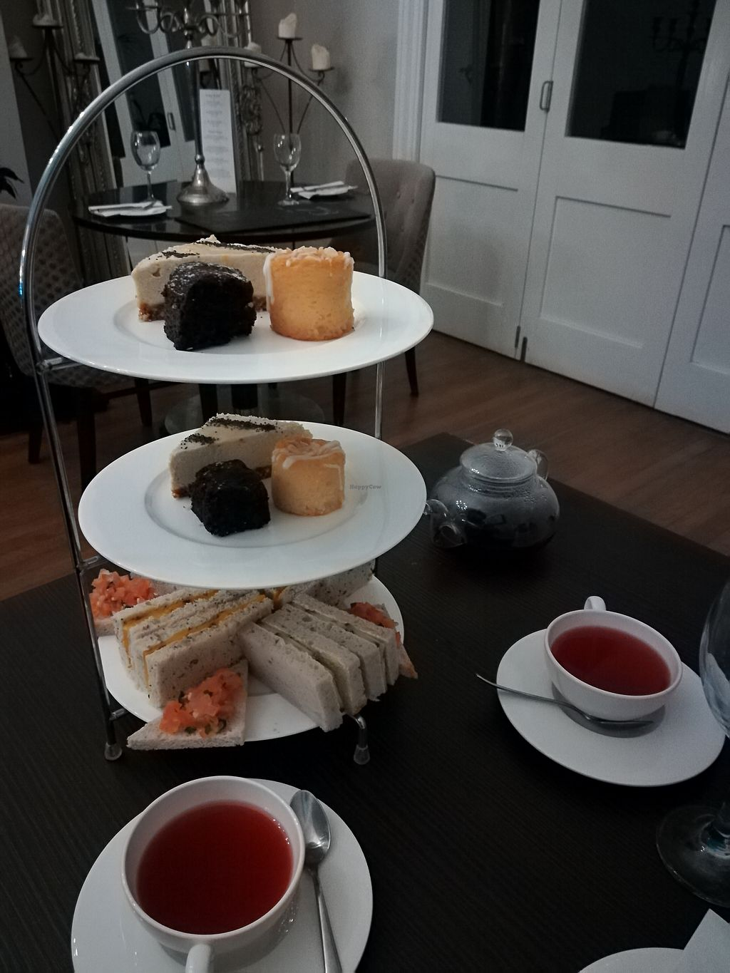 "Photo of Tea at 73  by <a href=""/members/profile/konlish"">konlish</a> <br/>Vegan and gluten free afternoon tea for two <br/> February 18, 2018  - <a href='/contact/abuse/image/91696/360580'>Report</a>"