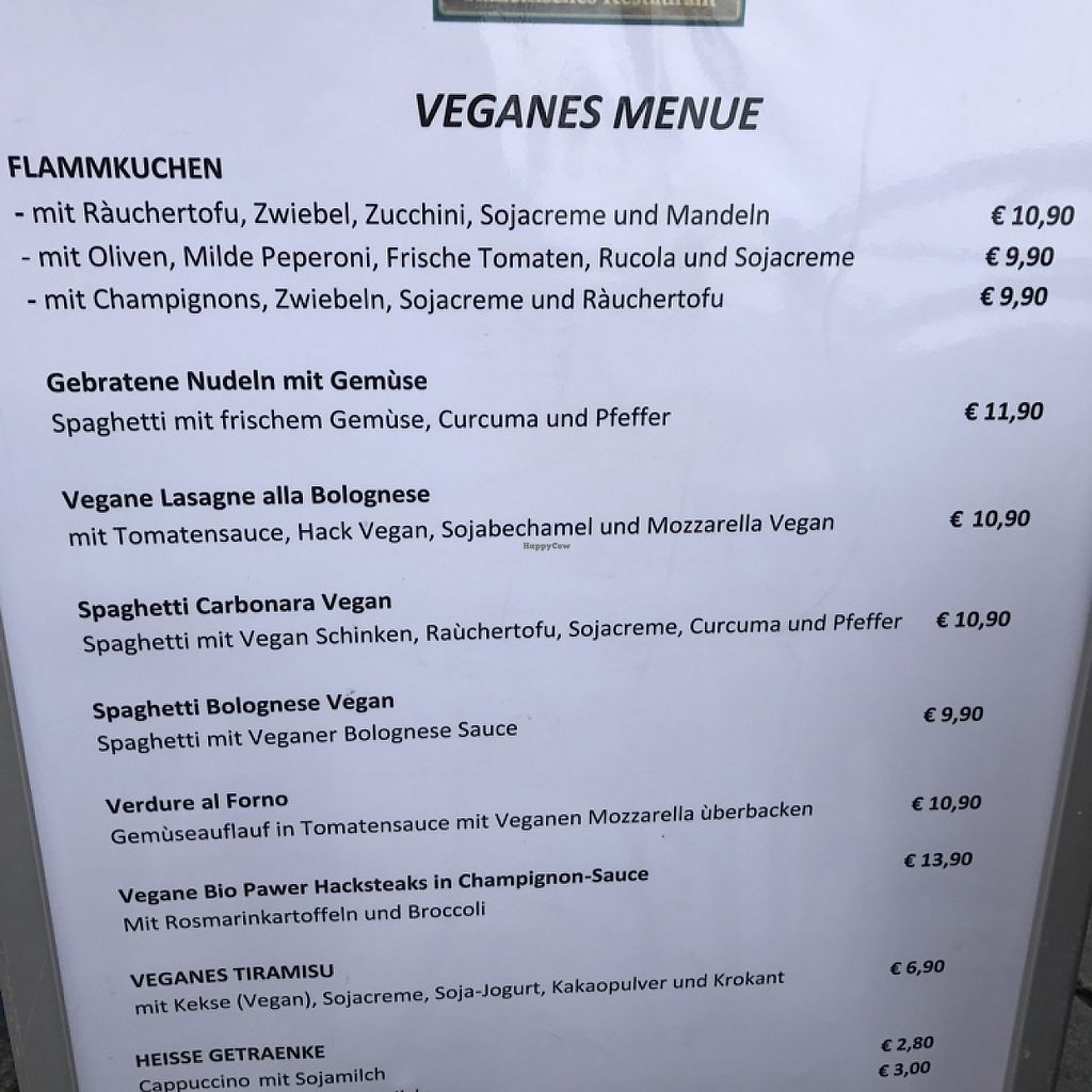 """Photo of La Taverna  by <a href=""""/members/profile/Shannonlea"""">Shannonlea</a> <br/>Vegan Menu <br/> May 6, 2017  - <a href='/contact/abuse/image/91699/256233'>Report</a>"""