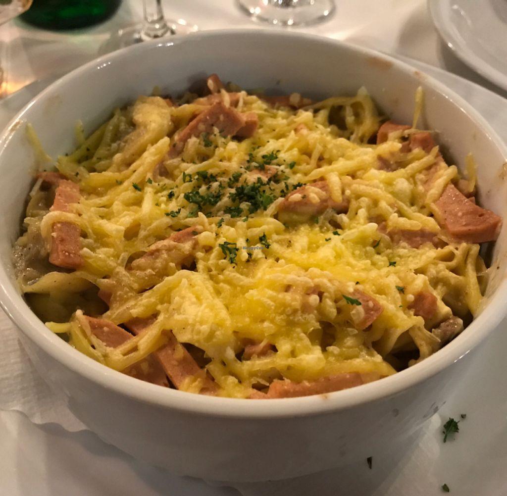 "Photo of La Taverna  by <a href=""/members/profile/Shannonlea"">Shannonlea</a> <br/>Vegan Tortellini al Forno <br/> May 7, 2017  - <a href='/contact/abuse/image/91699/256859'>Report</a>"