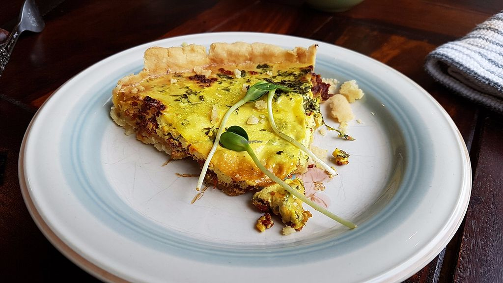 """Photo of Les Gourmandises Louca   by <a href=""""/members/profile/JonJon"""">JonJon</a> <br/>Quiche <br/> July 28, 2017  - <a href='/contact/abuse/image/91706/285768'>Report</a>"""