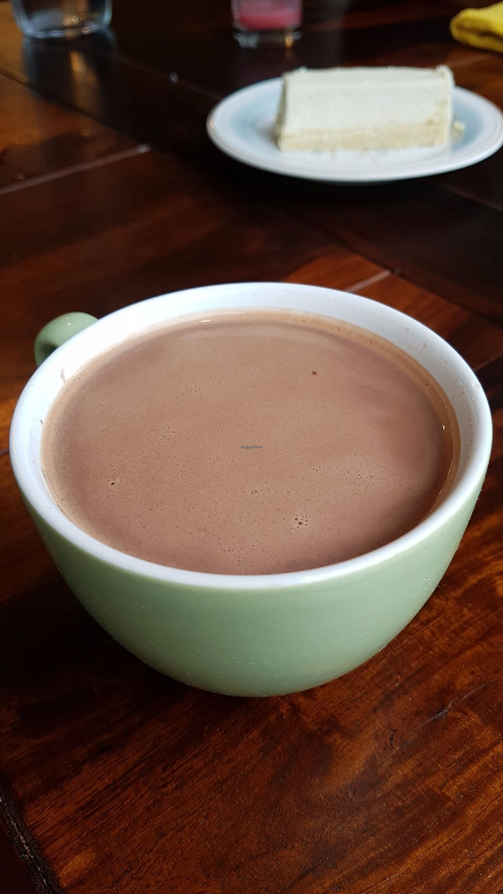 """Photo of Les Gourmandises Louca   by <a href=""""/members/profile/JonJon"""">JonJon</a> <br/>Hot chocolate <br/> July 28, 2017  - <a href='/contact/abuse/image/91706/285770'>Report</a>"""