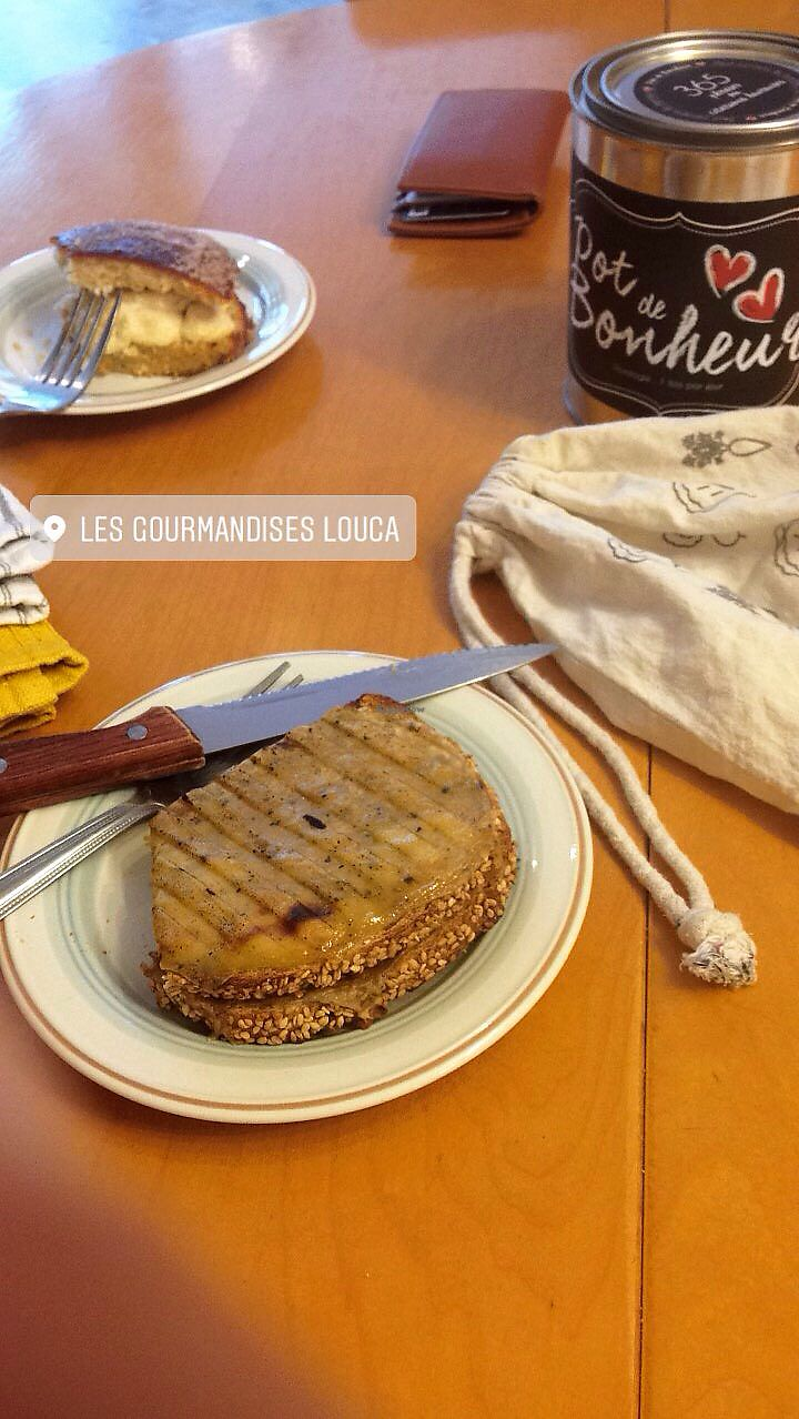 "Photo of Les Gourmandises Louca   by <a href=""/members/profile/doitforthemermaids"">doitforthemermaids</a> <br/>Tropezienne et croque monsieur <br/> October 11, 2017  - <a href='/contact/abuse/image/91706/314346'>Report</a>"
