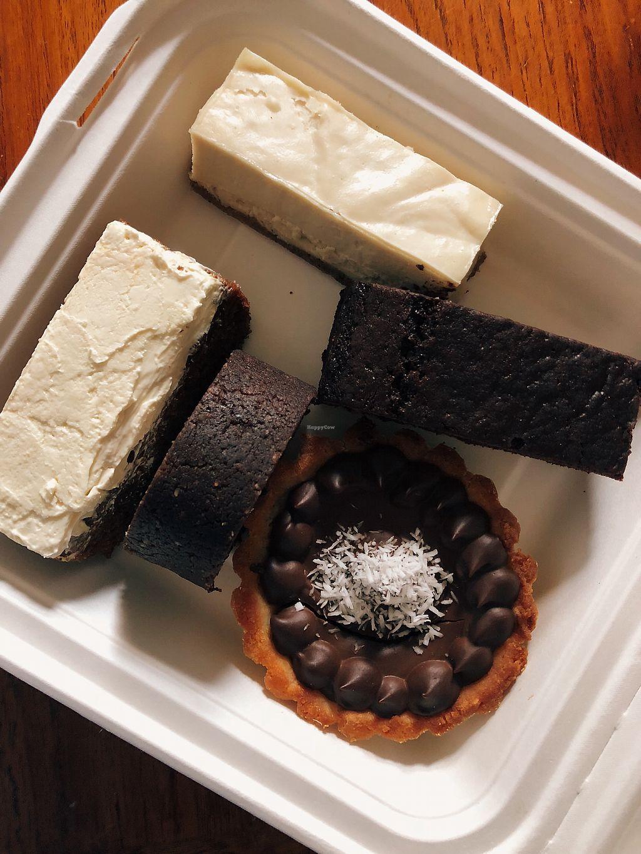 "Photo of Les Gourmandises Louca   by <a href=""/members/profile/CatherineRenaud"">CatherineRenaud</a> <br/>Gâteau au citron, gâteau aux carottes, brownies, rouleau de cacao et coco et tartelette au chocolat ! <br/> March 6, 2018  - <a href='/contact/abuse/image/91706/367324'>Report</a>"