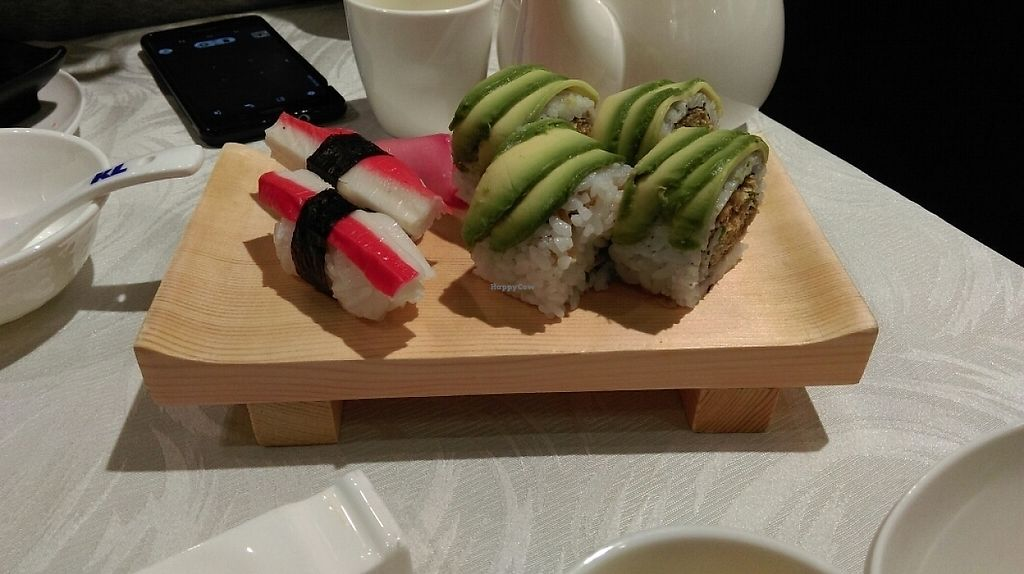 """Photo of Tong De Veggie  by <a href=""""/members/profile/JustinRogers"""">JustinRogers</a> <br/>Veggie crab and avocado rolls <br/> May 24, 2017  - <a href='/contact/abuse/image/91710/261998'>Report</a>"""