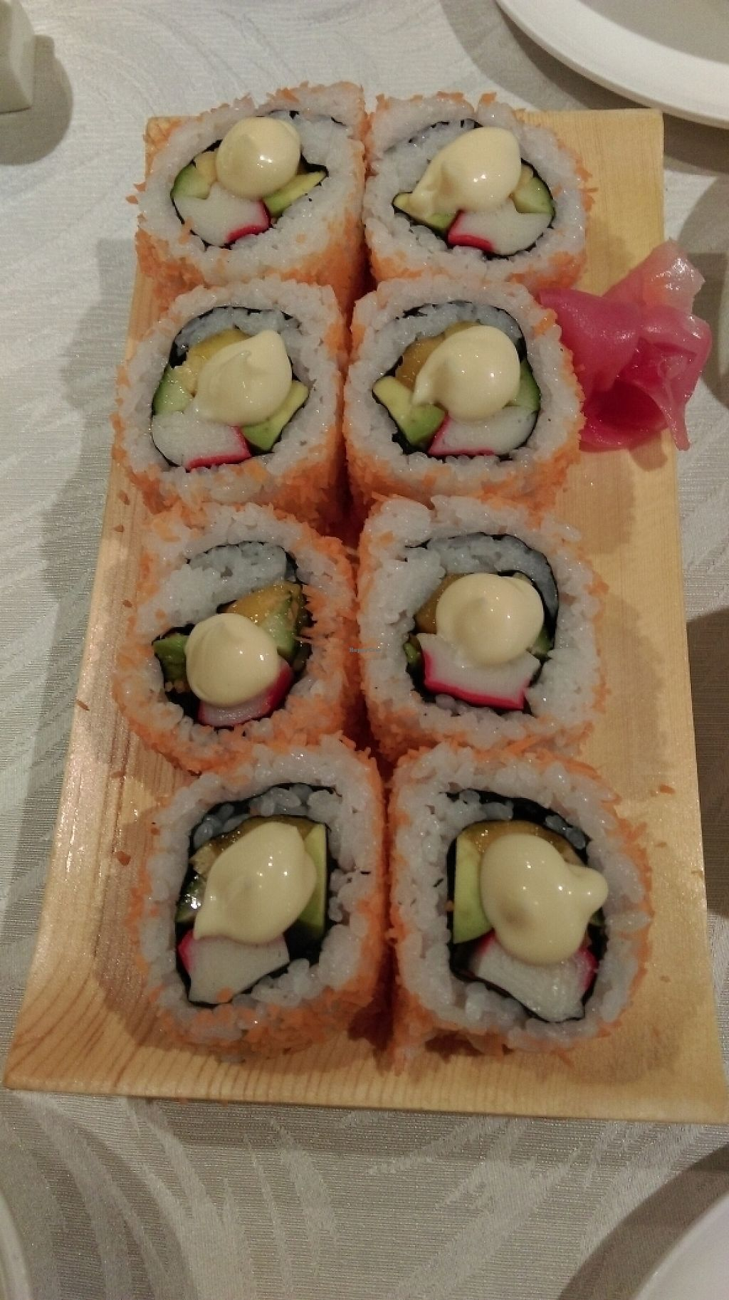 """Photo of Tong De Veggie  by <a href=""""/members/profile/JustinRogers"""">JustinRogers</a> <br/>California rolls <br/> May 24, 2017  - <a href='/contact/abuse/image/91710/261999'>Report</a>"""