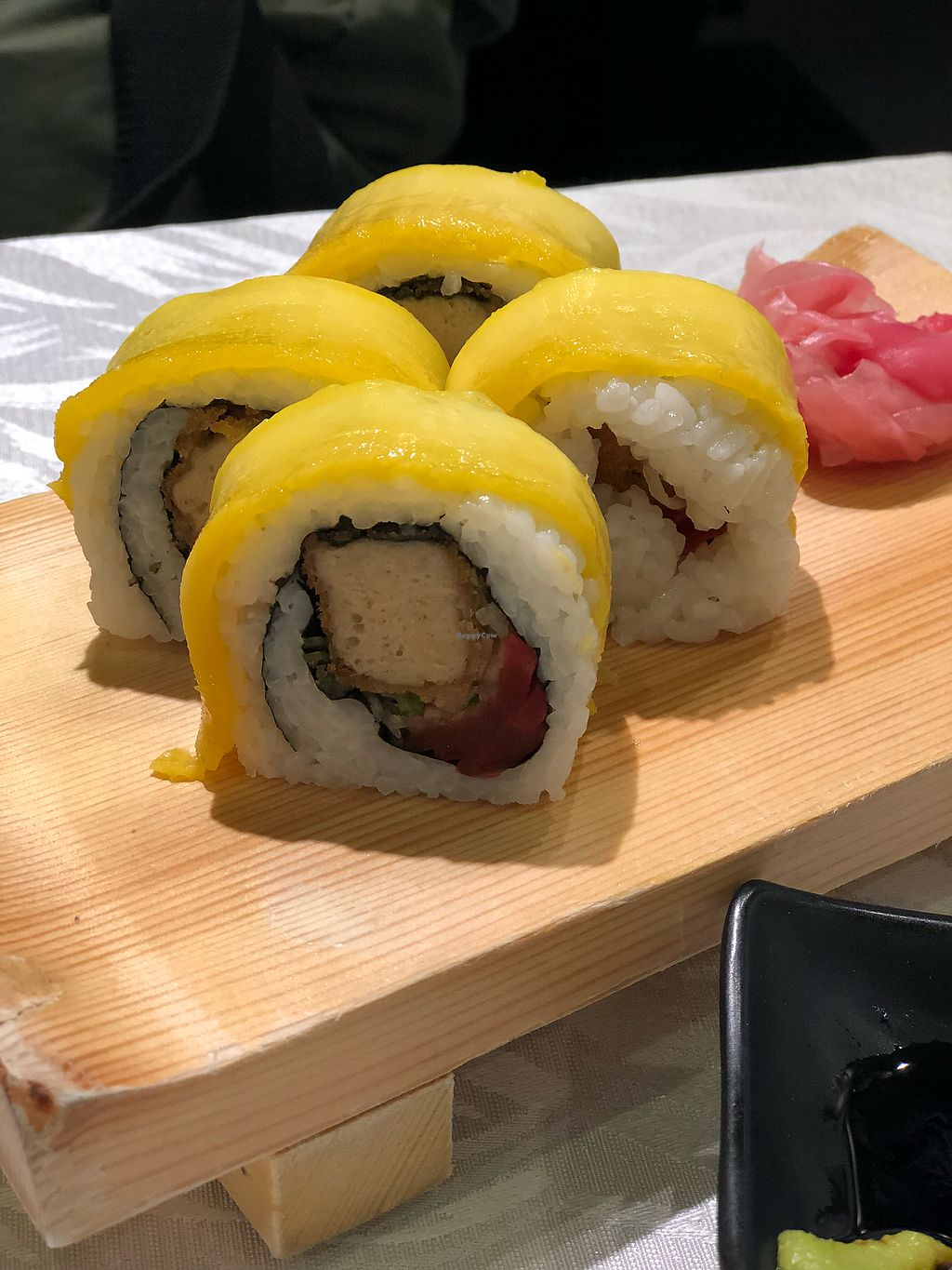 """Photo of Tong De Veggie  by <a href=""""/members/profile/Greenmilo"""">Greenmilo</a> <br/>Mango cutler roll <br/> December 18, 2017  - <a href='/contact/abuse/image/91710/336778'>Report</a>"""