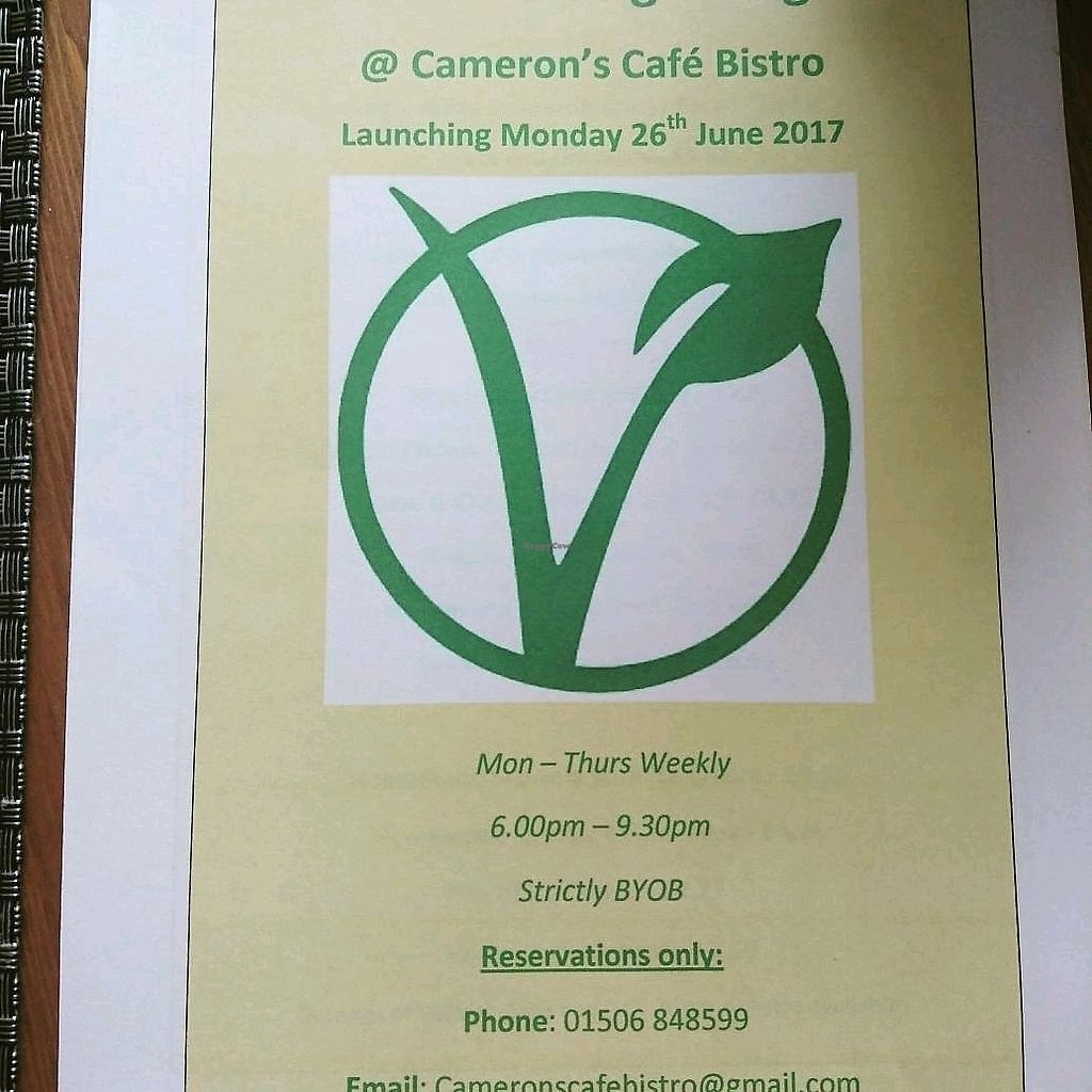 """Photo of CLOSED: Camerons Cafe Bistro   by <a href=""""/members/profile/craigmc"""">craigmc</a> <br/>promising <br/> March 26, 2018  - <a href='/contact/abuse/image/91714/376220'>Report</a>"""