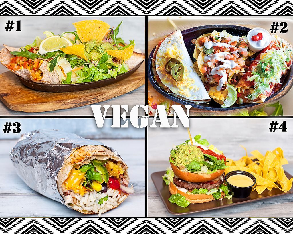 "Photo of Culiacan  by <a href=""/members/profile/Steinger%C3%B0ur"">Steingerður</a> <br/>We have 15 Mexican vegan options on our menu <br/> December 2, 2017  - <a href='/contact/abuse/image/91719/331431'>Report</a>"