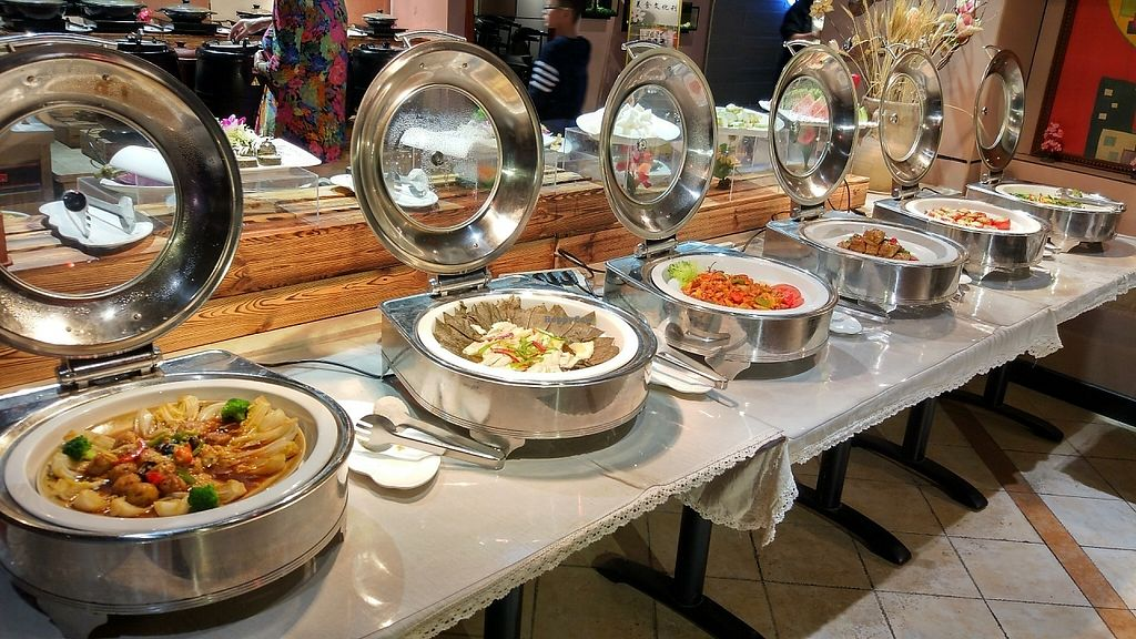 """Photo of Zhai Ming Xuan Vegetarian House  by <a href=""""/members/profile/ultm8"""">ultm8</a> <br/>Buffet station 3 <br/> May 19, 2017  - <a href='/contact/abuse/image/91720/260230'>Report</a>"""