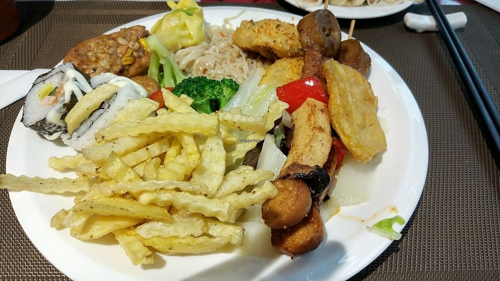 """Photo of Zhai Ming Xuan Vegetarian House  by <a href=""""/members/profile/ultm8"""">ultm8</a> <br/>First serving <br/> May 19, 2017  - <a href='/contact/abuse/image/91720/260233'>Report</a>"""