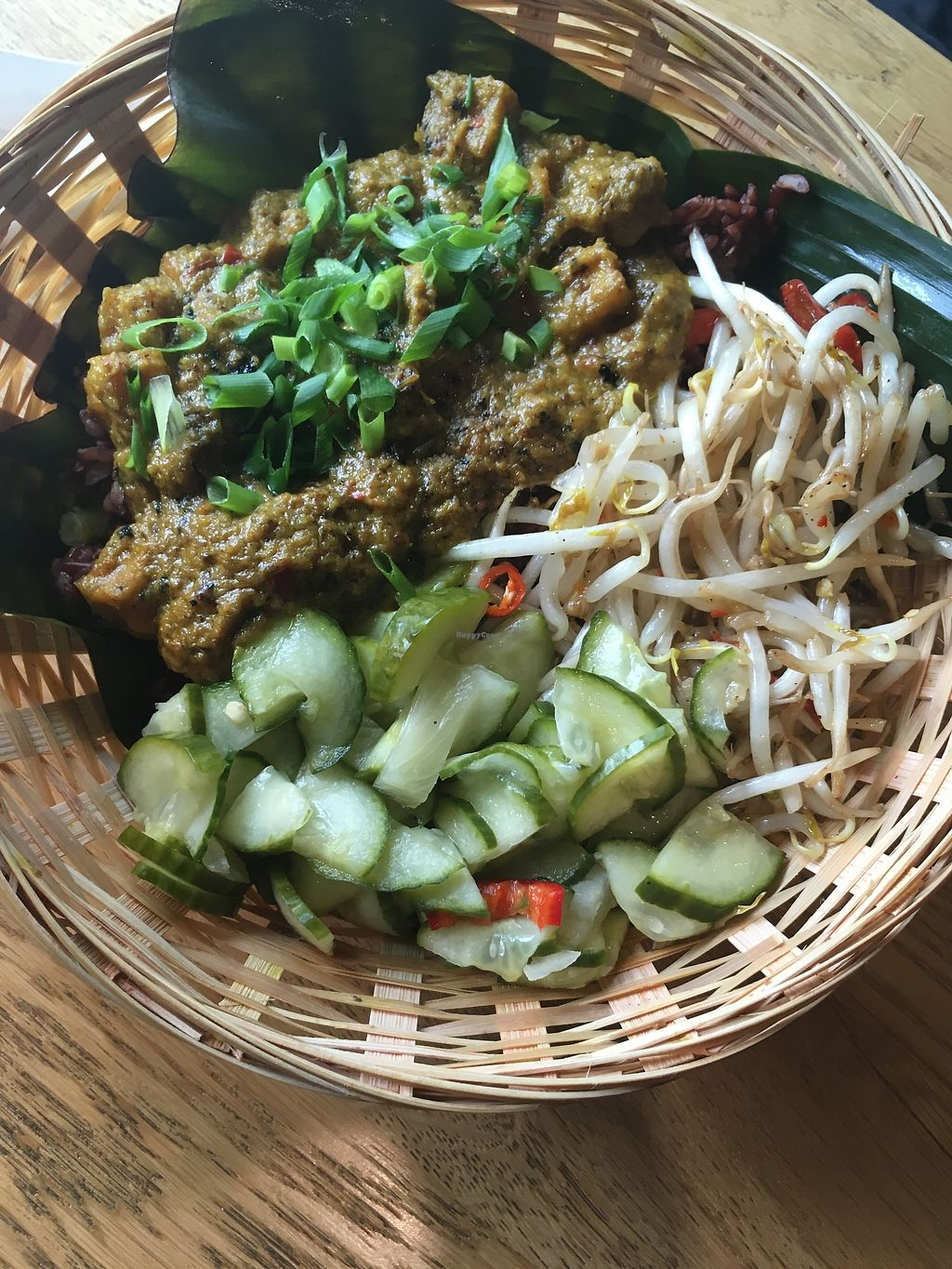 """Photo of Warung Jakarta  by <a href=""""/members/profile/LivvyCropper"""">LivvyCropper</a> <br/>Vegan rendang  <br/> October 9, 2017  - <a href='/contact/abuse/image/91724/313632'>Report</a>"""