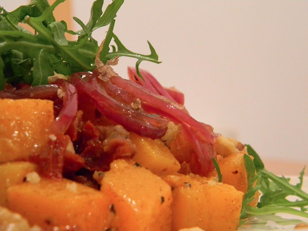 """Photo of Gabriele's Family Food  by <a href=""""/members/profile/gabrielepanozzo"""">gabrielepanozzo</a> <br/>Butternut Squash Salad <br/> May 7, 2017  - <a href='/contact/abuse/image/91733/256597'>Report</a>"""