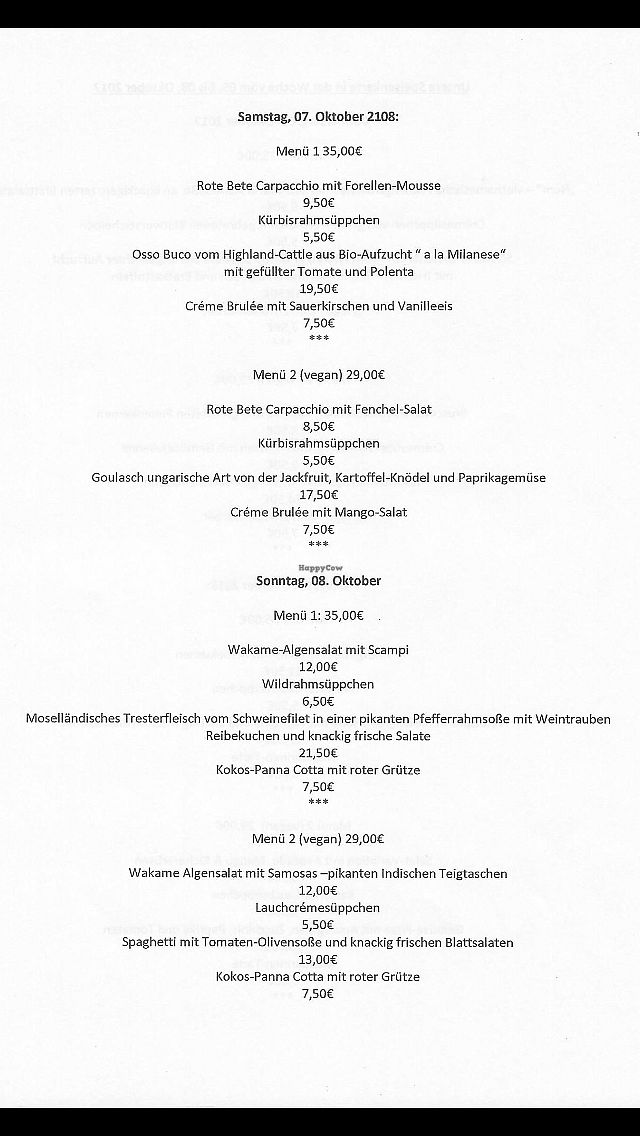 """Photo of Hotel Gasthaus and Restaurant zur Post  by <a href=""""/members/profile/BenRajasthanIslam"""">BenRajasthanIslam</a> <br/>Menü 7 <br/> October 1, 2017  - <a href='/contact/abuse/image/91745/310802'>Report</a>"""