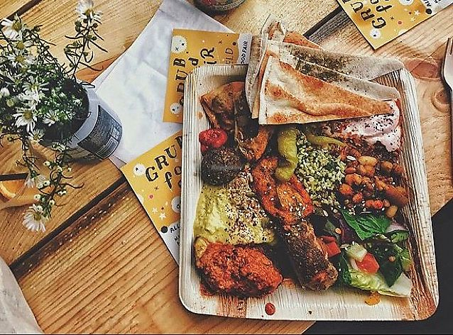 """Photo of GRUB Food Fair  by <a href=""""/members/profile/JulesB"""">JulesB</a> <br/>the Ottomen mezze <br/> June 19, 2017  - <a href='/contact/abuse/image/91754/270790'>Report</a>"""
